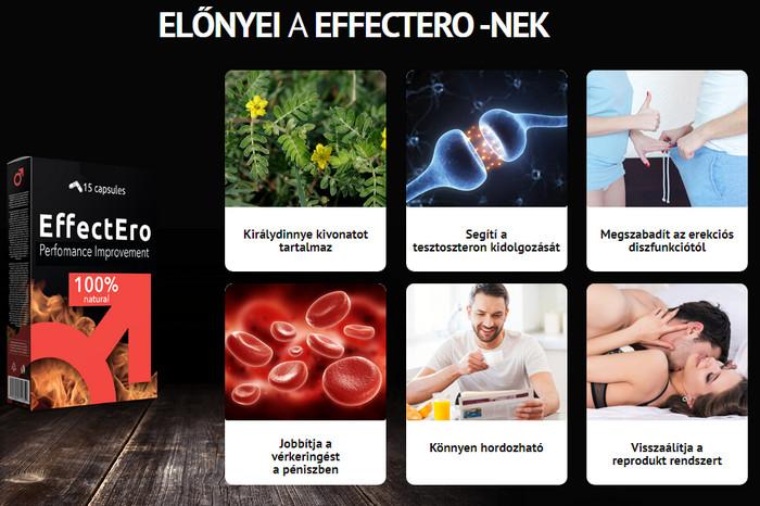 a hatékonyság és az erekció növelése érdekében