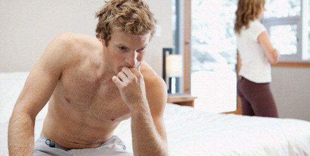 az ejakuláció hiánya hosszan tartó erekcióval