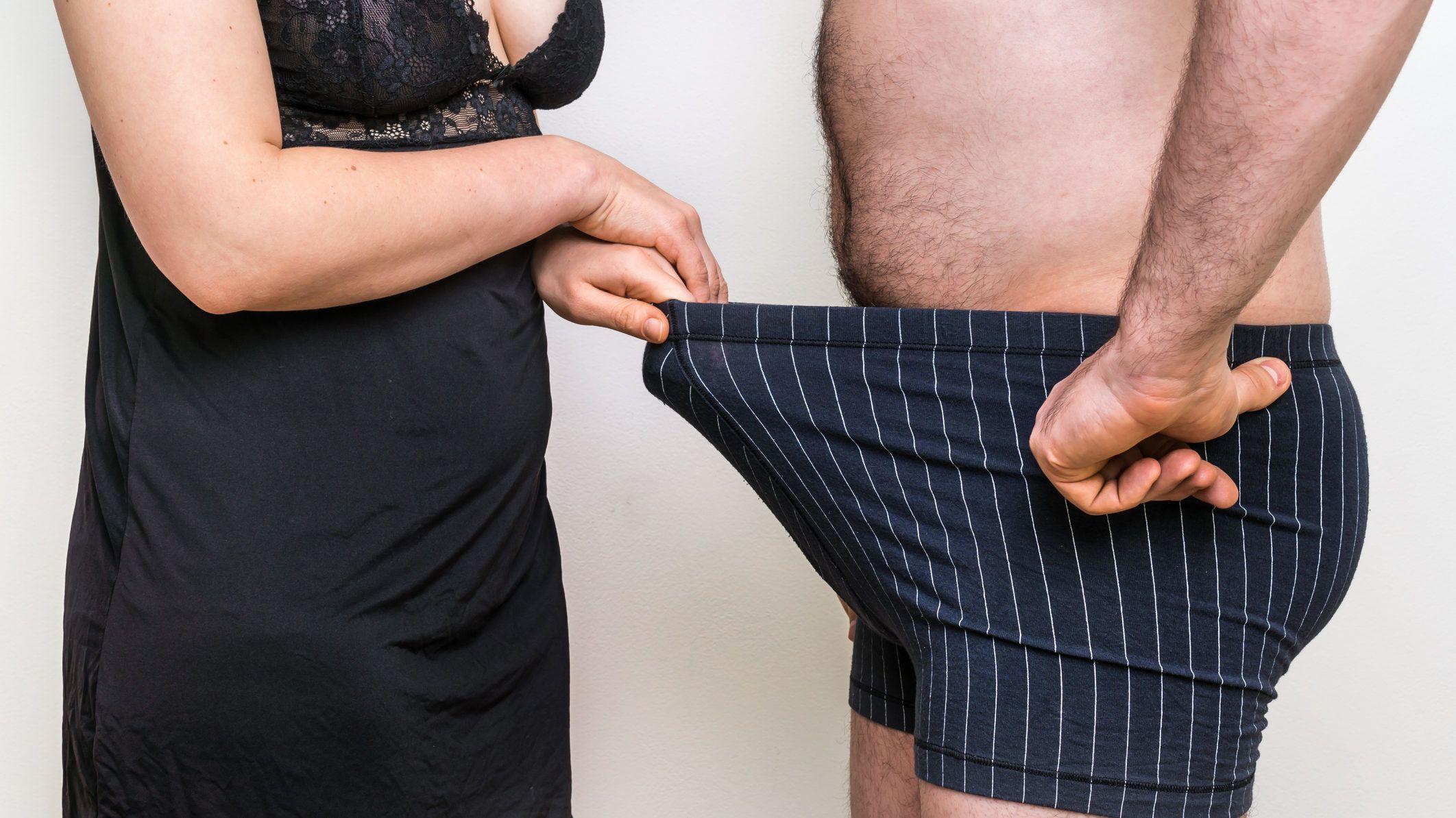 erekcióval növekszik miért a lányoknak nagy a péniszük