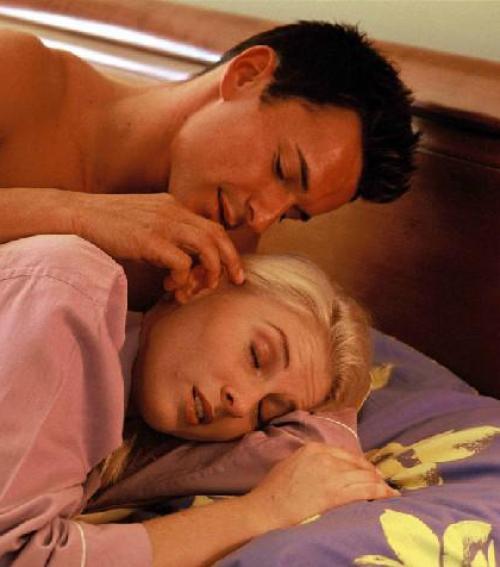 alvás közben merevedés merevedés van, de egy lánnyal nem