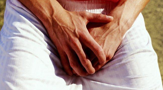 éles fájdalom az erekció során