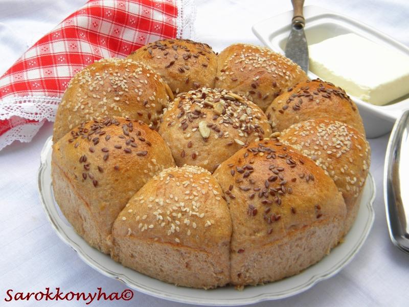 Sarokkonyha: Pufók zsemlék | Food, Bagel, Bread