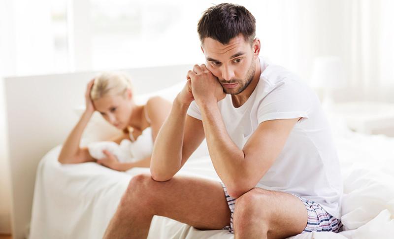 csökkent erekció férfiaknál